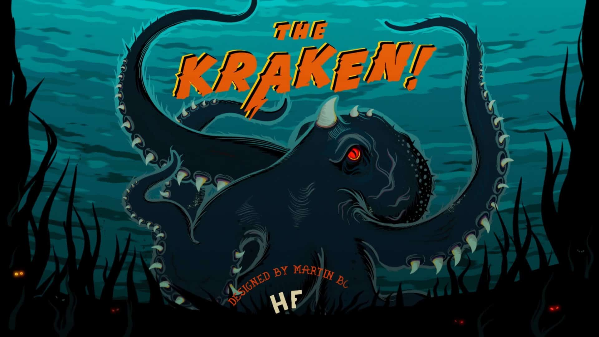Hells pizza the kraken social media campaign still image