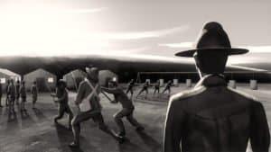 illustration of army men