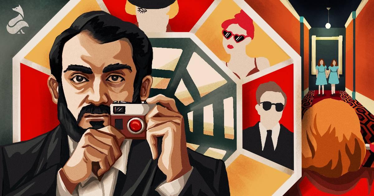 Stanley Kubrick inspired illustration